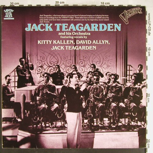 Teagarden,Jack & his Orch.: Varsity Sides, Savoy(WL70827SF), D, 1986 - LP - H6262 - 6,50 Euro