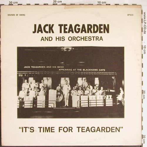 Teagarden,Jack: It's Time for Teagarden, vg+/VG-, Sound of Swing(LP-111), US,  - LP - H6265 - 3,00 Euro