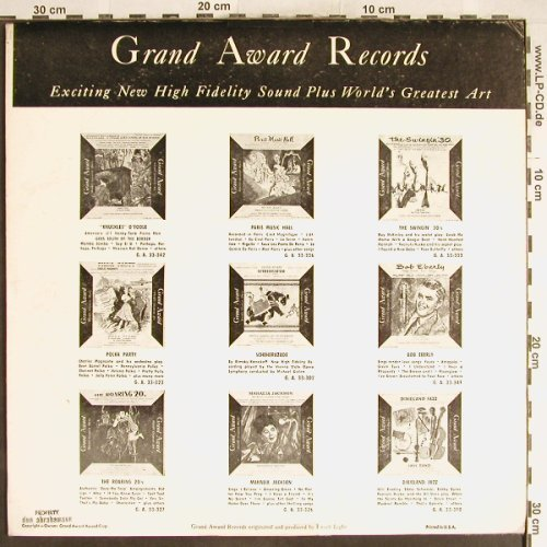 Whiteman,Paul: 50th Anniversary, vg+/VG+, Grand Award(GA 33-901), US,  - LP - H6267 - 4,00 Euro
