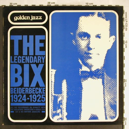 Beiderbecke,Bix: The Legendary Bix, 1924-1925, Pierre Cardin(93505), F,  - LP - H6309 - 6,00 Euro