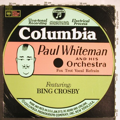 Whiteman,Paul & his Orch.: f.Bing Crosby, Columbia Mono(CL 2830), US,  - LP - H6313 - 5,00 Euro