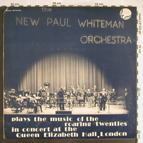 Whiteman,Paul & his New Orch.: Plays the music of roaring Twenties, Wave Rec.,Live(WAVE LP 27), UK,vg+/m-, 1975 - LP - H6315 - 4,00 Euro