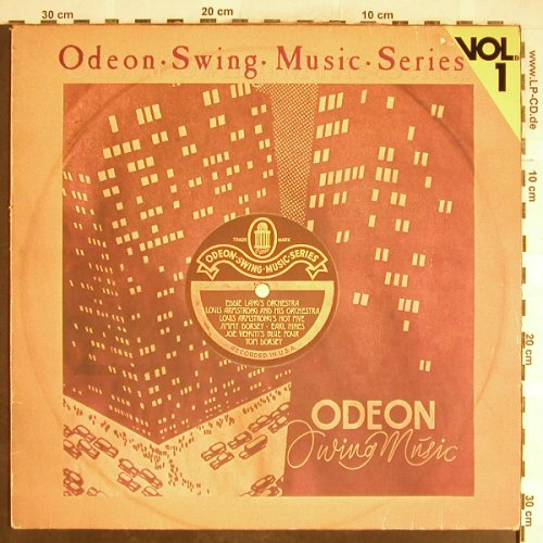 V.A.Odeon Swing Music Vol. 1: Eddie Lang's...Louis Armstrong, Emi Odeon(054-06 307), D,m-/vg+,  - LP - H6390 - 4,00 Euro