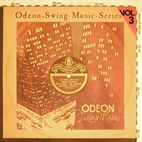 V.A.Odeon Swing Music Vol. 3: Frankie Trumbauer...Jack Purvis, Emi Odeon(054-06 309), D,m-/vg+,  - LP - H6392 - 5,00 Euro