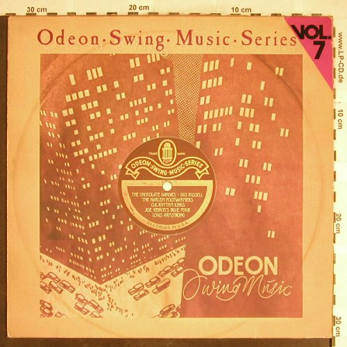 V.A.Odeon Swing Music Vol. 7: Harlem Footwarmers...Joe Venuti B4, Emi Odeon(054-06 313), D,  - LP - H6395 - 5,00 Euro