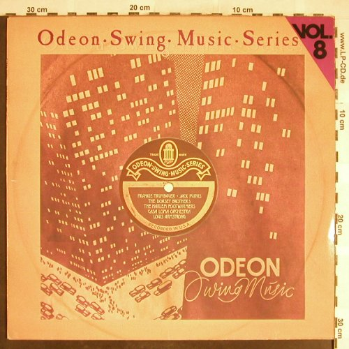 V.A.Odeon Swing Music Vol. 8: Louis Armstrong,Purvis...HarlemFoot, Emi Odeon(054-06 314), D,  - LP - H6396 - 5,00 Euro