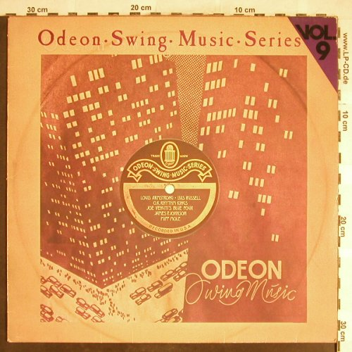 V.A.Odeon Swing Music Vol. 9: Miff Mole...Emmet Miller w.GeorgiaC, Emi Odeon(054-06 615), D,  - LP - H6397 - 5,00 Euro