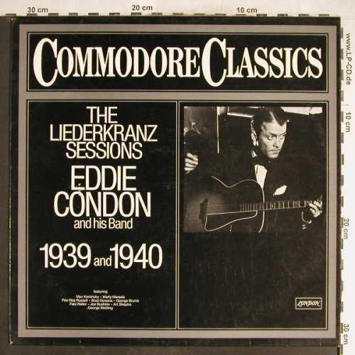 Condon,Eddie  and his Band: The Liederkranz Session,1939 & 1940, London(6.24295 AG), D,VG+/vg+,  - LP - H6403 - 3,00 Euro