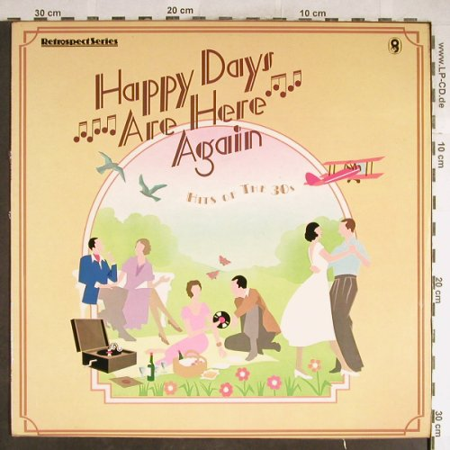 V.A.Happy Days Are Here Again: Jack Hylton,Ambrose..Geraldo&h.Orch, World Records(SH 337), UK,Hits'30,  - LP - H6430 - 5,00 Euro