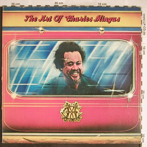 Mingus,Charles: The Art of Charles Mingus,Foc, Atlantic,Musterplatte(ATL 60 039), D,vg+/vg+, 1973 - 2LP - H6485 - 7,50 Euro