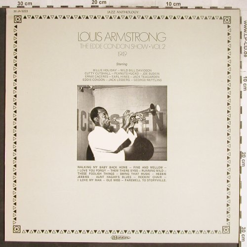 Armstrong,Louis: The Eddie Condon Show Vol.2-1949, Musidisc(30 JA 5223), F,  - LP - H6665 - 5,50 Euro