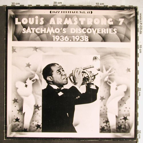 Armstrong,Louis: Satchmo's Discoveries(7) 1936-38, MCA(MCA 510.084), F, 1974 - LP - H6689 - 5,50 Euro