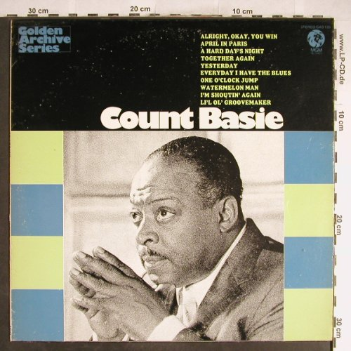 Basie,Count: Golden Archive Series, vg+/m-, MGM(GAS-126), US,  - LP - H6696 - 4,00 Euro