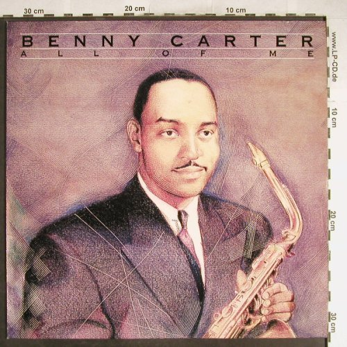 Carter,Benny: All of Me, Ri, Bluebird(NL83000), D, 1991 - LP - H6727 - 6,00 Euro
