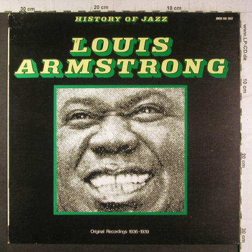 Armstrong,Louis: Same-Original Recordings 1936-1939, Joker(SM 3052), I, 1971 - LP - H6737 - 5,00 Euro