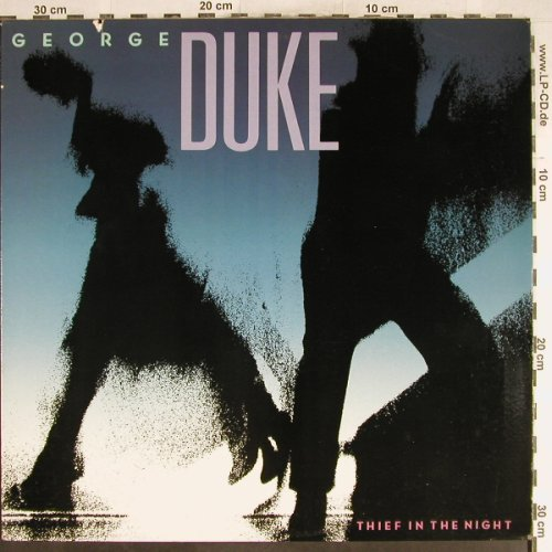 Duke,George: Thief In The Night, Elektra(60398-1), US, co, 1985 - LP - H6747 - 6,50 Euro
