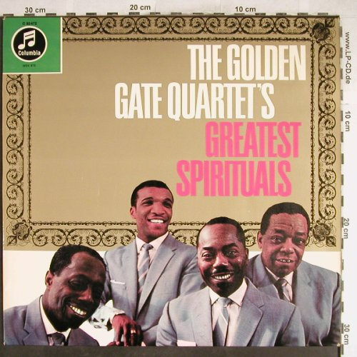 Golden Gate Quartet: Greatest Spirituals, Columbia(83 472), D,  - LP - H6783 - 9,00 Euro