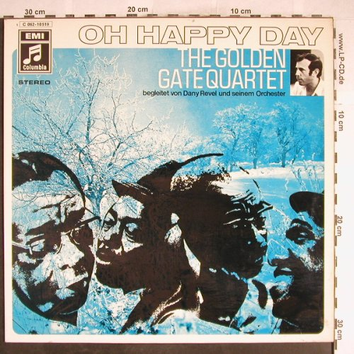 Golden Gate Quartet: Oh Happy Day, EMI(062-10 519), D,  - LP - H6804 - 6,00 Euro