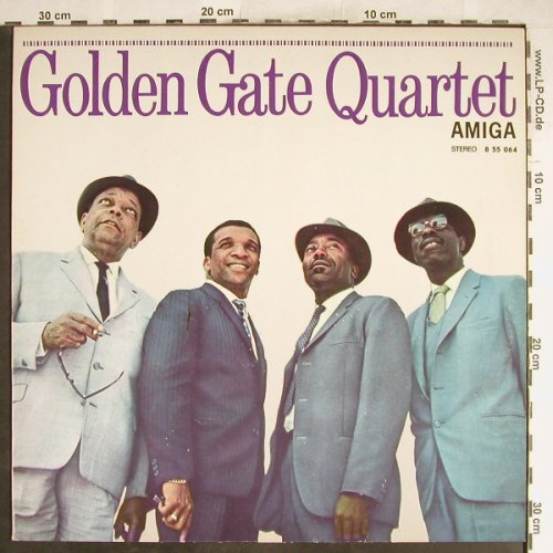 Golden Gate Quartet: Same, Amiga Jazz(855064), DDR, 1980 - LP - H6807 - 7,50 Euro