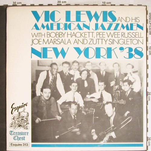 Lewis,Vic  and his American Jazzmen: New York'38, Esquire(ESQ 313), UK, 1985 - LP - H6847 - 7,50 Euro