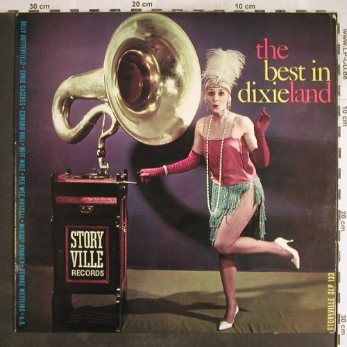 V.A.The Best in Dixieland: Max Kaminsky...Billy Butterfield, Storyville(SLP 133), DK,vg+/vg+,  - LP - H6861 - 3,00 Euro