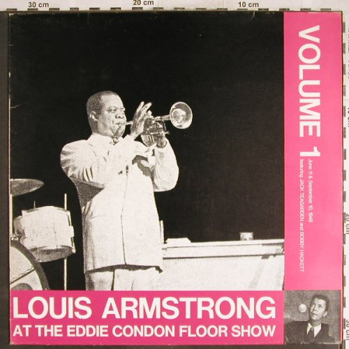 Armstrong,Louis: At The Eddie Condon Floor Show,Vol1, Queen-Disc(Q-010), I,Ri,  - LP - H6862 - 6,00 Euro