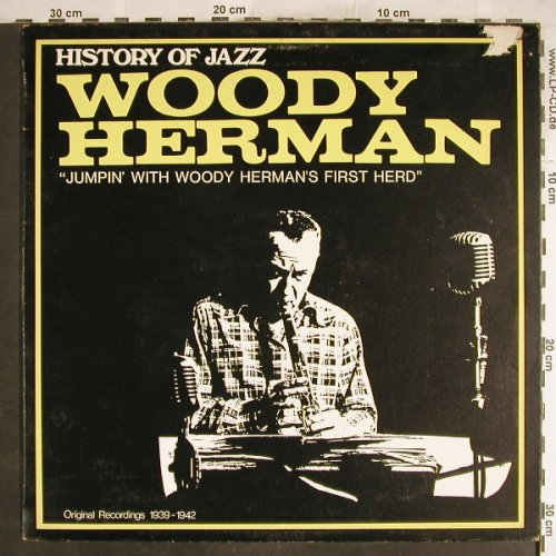 Herman,Woody: Jumpin with W.H.First Herd, m-/vg+, Joker(SM 3059), I(1939-42), 1970 - LP - H6887 - 5,50 Euro