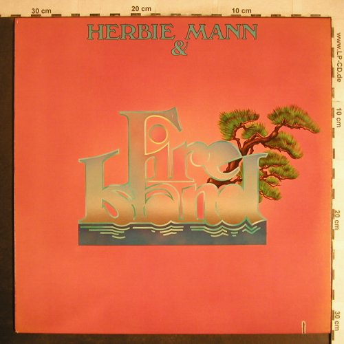 Mann,Herbie & Fire Island: Same, Atlantic(SD 19112), US, co, 1977 - LP - H6927 - 6,00 Euro