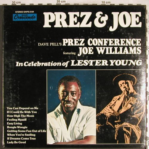 Prez & Joe: Dave Pell's Prez Conference,FS-New, GNP(GNPS 2124), US, 1979 - LP - H6968 - 7,50 Euro
