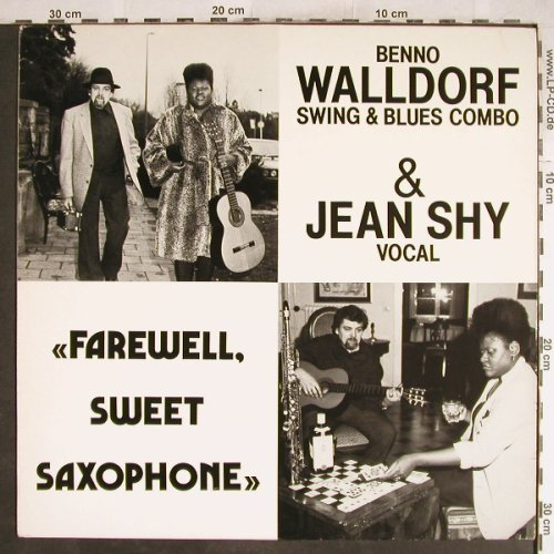 Walldorf,Benno & Jean Shy: Farewell,Sweet Saxophone, King Edward Records(KE 1002), D, 1982 - LP - H6990 - 6,00 Euro
