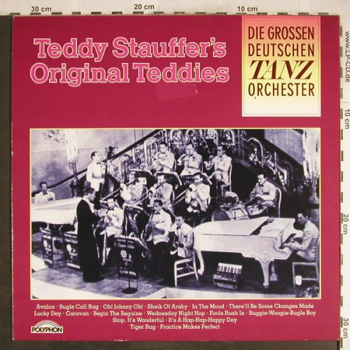 Stauffer,Teddy & Original Teddies: Same, Polyphon(833 414-1), D,  - LP - H6996 - 4,00 Euro