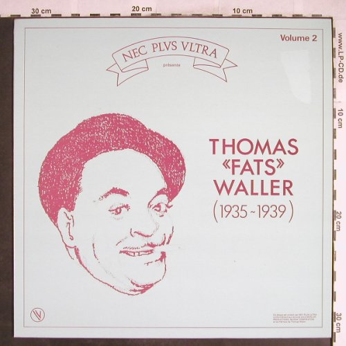 Waller,Fats: Volume 2 (1935-1939), Nec Plus U(502006), F, 1983 - LP - H6998 - 6,00 Euro