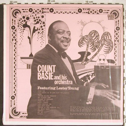 Basie,Count & His Orch.: Same, f.Lester Young, Sabie(5302), US,  - LP - H7045 - 9,00 Euro