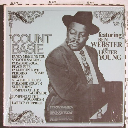 Basie,Count & His Orch.: Same, f.Ben Webster,Lester,Young, Sabie,kleine Welle~(5301), US,vg+/m-,  - LP - H7046 - 3,00 Euro