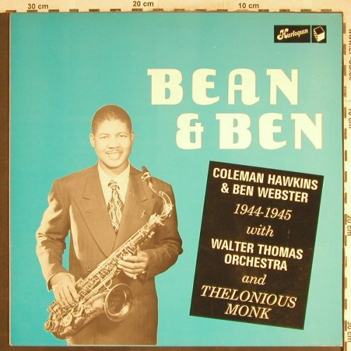 Hawkins,Coleman & Ben Webster: Bean & Ben, vg+/m-, Harlequin(HQ 2004), UK, 1983 - LP - H7068 - 5,00 Euro