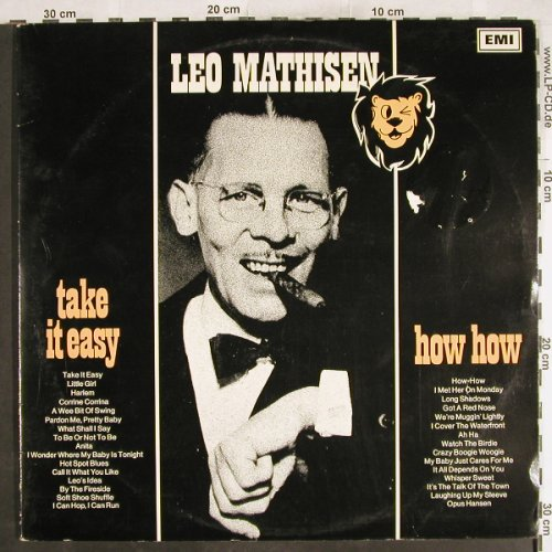 Mathisen,Leo: Take it Easy / How How, Foc, m-/vg+, EMI(J7-8), S,  - 2LP - H7156 - 7,50 Euro
