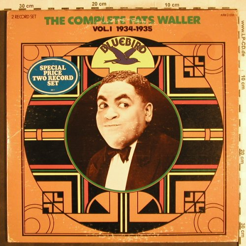 Waller,Fats: The Complete Vol.1, 1934-35, Bluebird(AXM 2-5511), US, m-/vg+, 1975 - 2LP - H7232 - 6,50 Euro