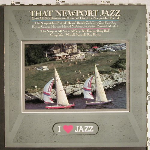 V.A.That Newport Jazz: I Love Jazz(1963), CBS(CBS 21139), NL, Ri, 1983 - LP - H7264 - 5,00 Euro