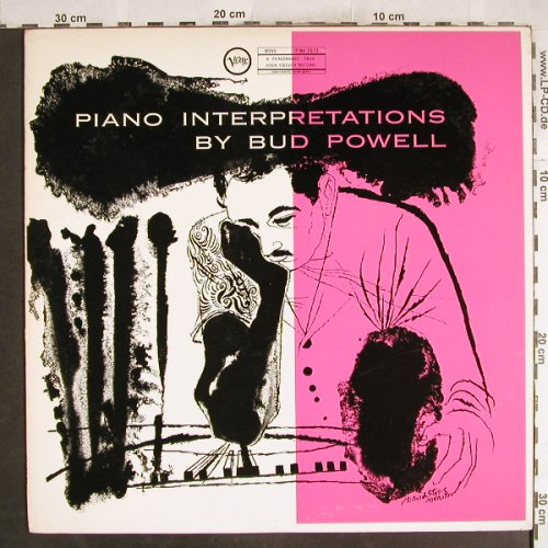 Powell,Bud: Piano Interpretations by, Verve(MV 2573), J,  - LP - H7431 - 14,00 Euro