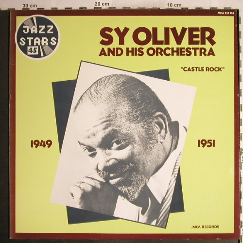 Oliver,Sy  and his Orchestra: Castle Rock 1949-51(Jazz Stars 45), MCA(MCA 510 194), D, 1978 - LP - H7437 - 7,50 Euro