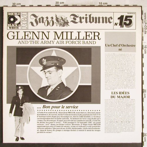 Miller,Glenn & The Army Force Band: Jazz Tribune 15, Foc, RCA(NL89767(2)), D, 1980 - 2LP - H7459 - 9,00 Euro