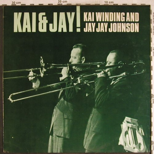 Winding,Kai & Jay Jay Johnson: Kai & Jay !, Affinity/Charly(AFF 161), UK, Ri, 1986 - LP - H7707 - 7,50 Euro