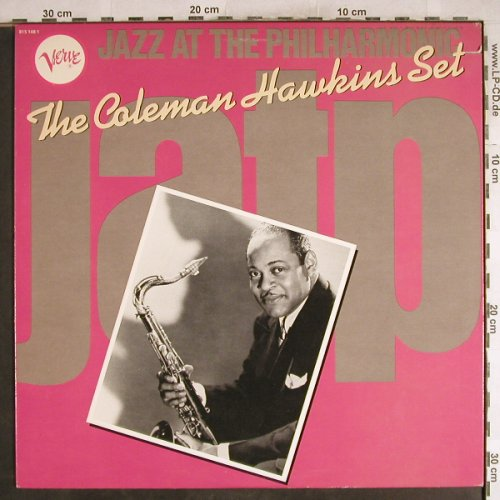 Hawkins,Coleman  Set: Same,Jazz at the Philharmonic(1949), Verve(815 148 1), US, co, Ri, 1983 - LP - H7712 - 7,50 Euro