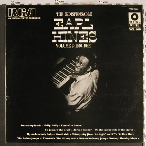 Hines,Earl: The Indispensable, m-/vg+, RCA(FPM1 7000), F,  - LP - H7724 - 5,00 Euro