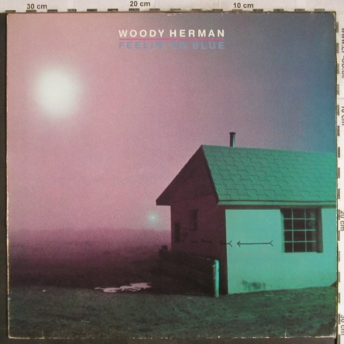 Herman,Woody: Feelin' So Blue, m-/vg+, Fantasy(0061.164), D, 1981 - LP - H7744 - 7,50 Euro