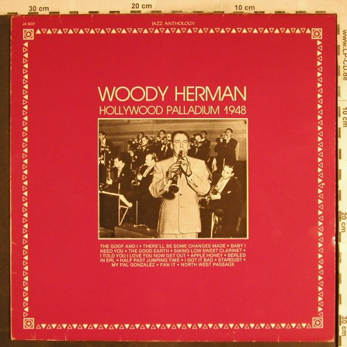 Herman,Woody: Hollywood Palladium 1948, Musidisc(JA 5237), F, 1981 - LP - H7746 - 7,50 Euro