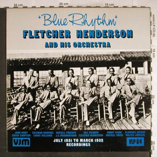 Henderson,Fletcher: Blue Rhythm, VJM(VLP 64), UK, 1989 - LP - H7751 - 7,50 Euro