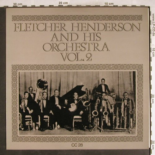 Henderson,Fletcher  and h.Orch.: Same, Vol.2, m-/vg+, Collector's Classics(CC 28), UK,  - LP - H7757 - 4,00 Euro