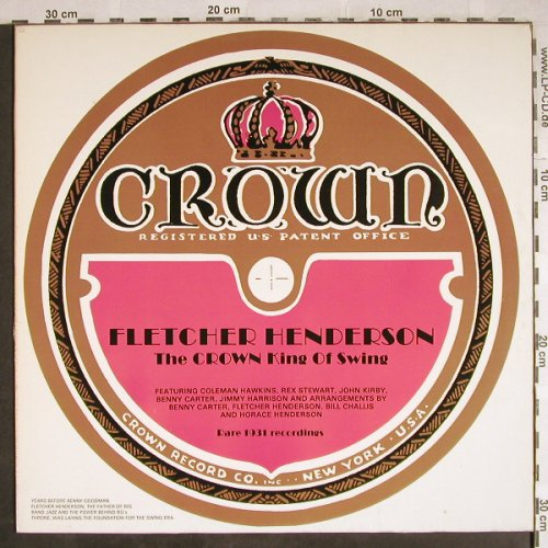 Henderson,Fletcher: The Crown King of Swing, m-/vg+, Savoy(WL70543), D, 1985 - LP - H7871 - 4,00 Euro