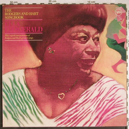 Fitzgerald,Ella: The Rodgers and Hart Songbook, Foc, Verve(2632 070), D, 1977 - 2LP - H7902 - 15,00 Euro